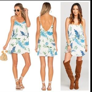 Show me your MuMu arianna dress wisteria wonder